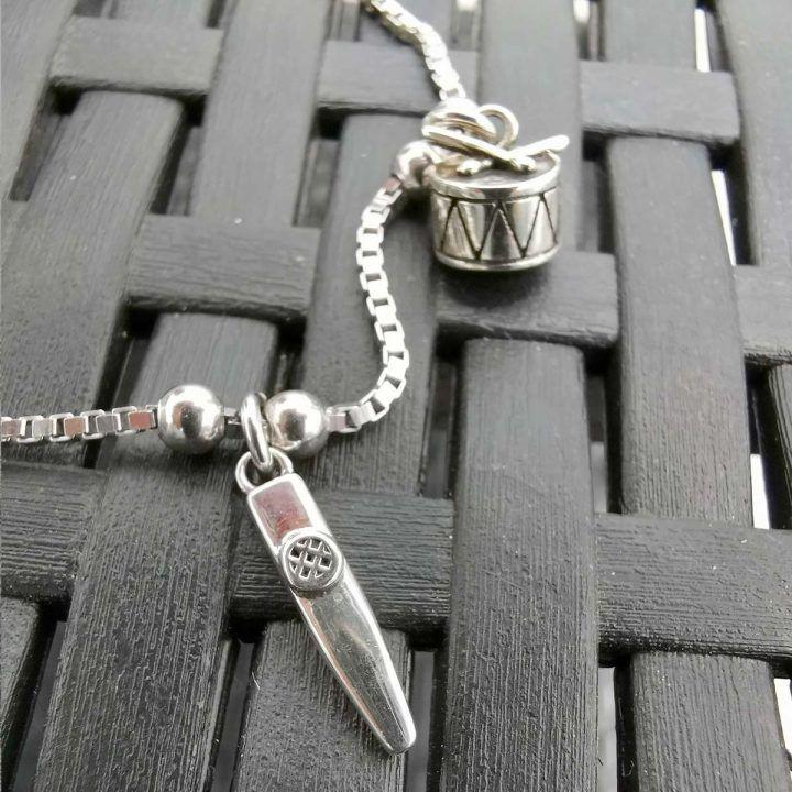 pulsera carnaval de cadiz plata