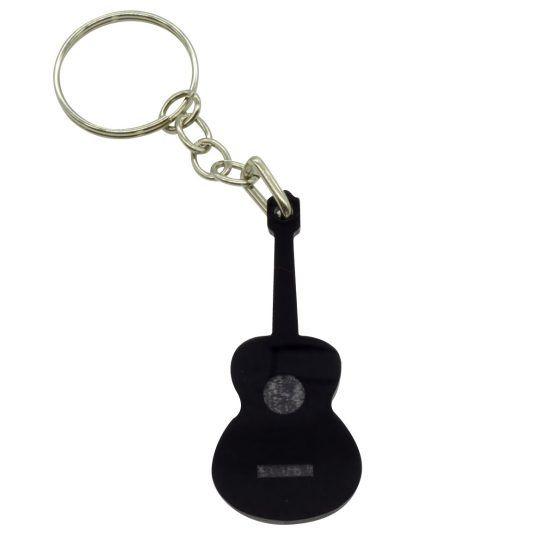 llavero guitarra negra peq