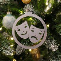 bola navidad mascaras carnaval cadiz