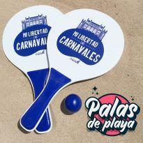 Palas de playa Carnaval de Cádiz