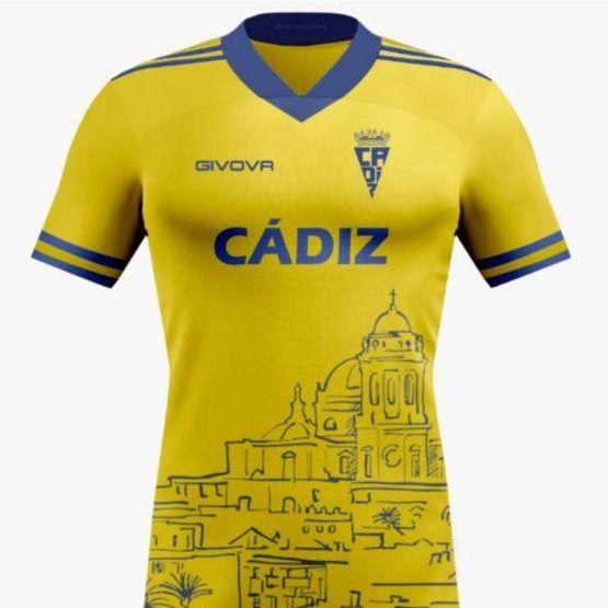 camiseta del cadiz amarilla