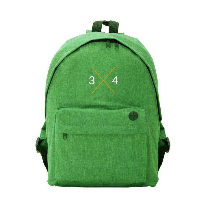 mochila 3x4 verde